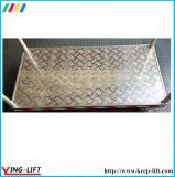 С другой стороны платформы из алюминия для тяжелых условий эксплуатации погрузчика с 4 КОЛЕСА AF2448