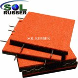 Ce En1177 Certificated Free Install Rubber Floor Mat