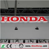 Emblema di marchio dell'automobile Backlit LED 3D per Honda