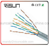 Double Jacket (PE + PVC) Cable UTP Cat5e LAN con 305m