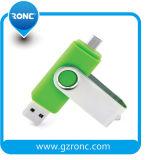 Velocidade Super OTG 2 em 1 unidade Flash USB de 8 GB Pen Drive USB 2.0