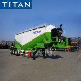 A Titan 40t Navio de cimento do Transportador do Reboque