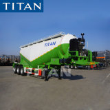 Titan 40t cemento Bulker Tráiler Transporter
