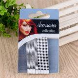Boucles d'oreille à cheveux moulés en métal colorés à la mode de femmes Fashion (JE1006-1)