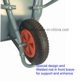 1つの東南アジアの手押し車の鋼鉄一輪車に付き3つ