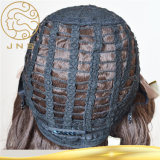 La mujer 100% virgen Remy Cheap Wholesale completo Lace brasileño peluca cabello humano.