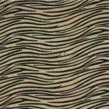 Impresso felpa longa Decalcomania tecido, imitação de pêlos de Cavalos