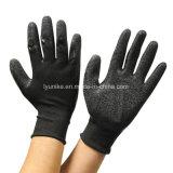 13 указатели полиэстера с покрытием из латекса с насечками рабочие перчатки заводская цена
