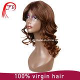 マレーシアの方法ブラウンの毛のかつらボブは中国の人間の毛髪のかつらの製造業者を強打する