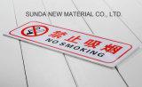 Plastica Sheet&#160 di colore del doppio dei 2018 di nuova tecnologia dei prodotti di Noctilucence del laser ABS dell'incisione;