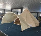 5m großer Platz-Luxuxrundzelt-im Freiensegeltuch-Rundzelt für Verkauf