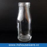 300ml löschen trinkende Glasflasche mit pp.-Stroh