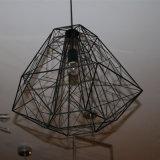 A sala de jantar de poupança de energia de metal Bird Cage Luz Pendente