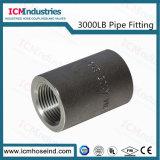 Traversa d'acciaio filettata ad alta pressione del acciaio al carbonio dell'accessorio per tubi dalle 3000 libbre