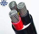 600/1000V 4 Core 120mm 150mm 185mm isolés de PVC Aluminium Câble d'alimentation