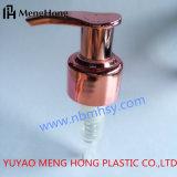 Pompe de gauche à droite en plastique UV de lotion de Rose Gloden