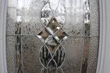 حارّ يبيع أمريكا فولاذ باب زخرفيّة زجاجيّة
