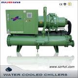 Refrigerador de água industrial refrigerado a água com glicol de baixa temperatura 40HP