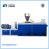 El desagüe de PVC y extrusión de tubo de suministro de agua que hace la máquina