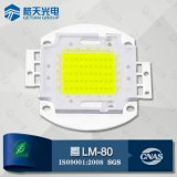 White High Power 80W COB LEDのためのLm80 Certificate米国Bridgelux 45mil Chip