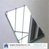 Claro espejo de plata de flotación del espejo de vidrio recubierto de plata