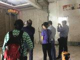 Macchina automatica su efficiente della rappresentazione della parete della macchina dell'intonaco della parete della costruzione