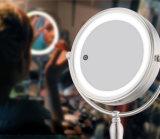 Espejo del maquillaje del tacto de 8.5 pulgadas LED con la luz tres