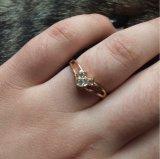 Австрийские кольца цвета золота кристалла 18krgp для женщин