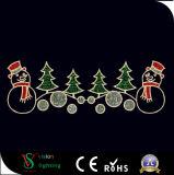 熱い販売法のクリスマスLEDの通りロープのモチーフライト