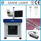 Máquina ULTRAVIOLETA industrial de la marca del laser 2017 para el vidrio/plástico