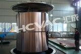 Couleur des feuilles en acier inoxydable gravé revêtement PVD Machine