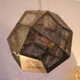 De moderne Lamp van de Tegenhanger van het Roestvrij staal van de Decoratie Gouden