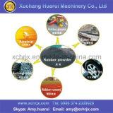 Residuos buena calidad de los neumáticos trituradora / trituradora de Reciclaje de Neumáticos / Maquinaria de goma