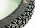 Motorrad zerteilt Motorrad-Reifen 2.50-17