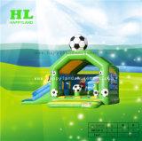 Het groene Thema Opblaasbare Combo van de Voetbal