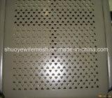 Folha de perfuração de aço inoxidável para filtros Folha perfurada Folha perfurada