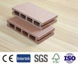 Decking компоста различного цвета деревянный пластичный, настил WPC