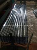 La onda de agua impermeabilización de cubiertas de acero duro completo/G550 Gi la hoja de acero corrugado