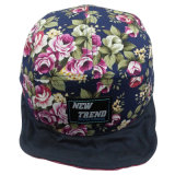 Gorras de béisbol florales populares con el pico suave SD12
