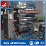 Maquinaria plástica da extrusão da folha da película do PVC que faz a máquina