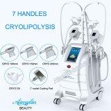 Nieuwe het Koelen Vette Technologie 7 het Vette Bevriezen Handpeices op Kin/Cryolipolysis op de Buik van de Benen van Wapens
