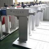 彫版チッププリント基板のために小型20Wファイバーレーザーのマーキング機械