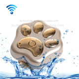Resistente al agua mascotas inteligentes GPS Tracker con Andriod&ios APP V30
