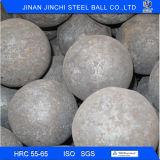 80mm hohe Härte geschmiedete reibende Stahlkugeln für Bergbau