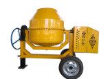 misturador concreto móvel de cilindro 800L de aço