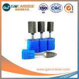 A alta precisão de carboneto de sólidos de tungsténio rebarbas rotativo