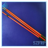 ポーランド人、FRP赤い棒のGRPのフラッグポールを折るガラス繊維