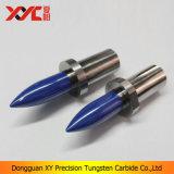 세라믹에 있는 파란 지르코늄 분사구 또는 Pin