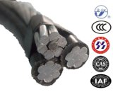 ABC ambientale Cable di Stranded Aluminum Conductor con AAC ACSR AAAC Neutral Message