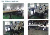 CNCの旋盤の回転中心のための自動棒送り装置
